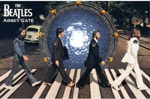 Stargate Beatles by Wretchified