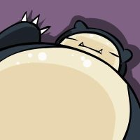 snorlax by sqeezy