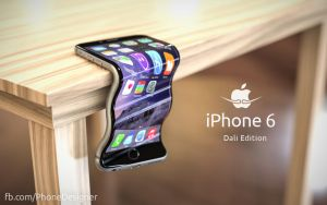 iPhone 6 Dali Edition (#bendgate) by Jonas-Daehnert