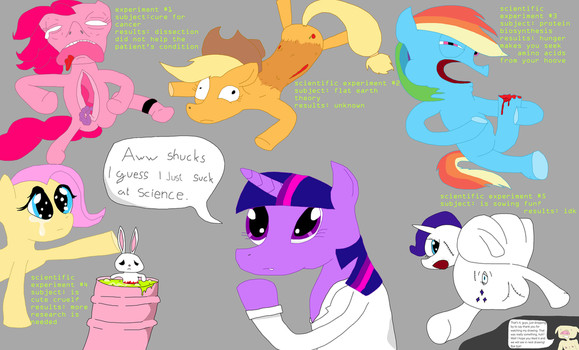 My little pony: Twiglight torture is science by Sikojensika