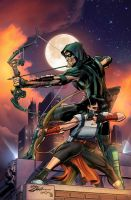 Green Arrow Rebirth #6 Cover by timshinn73