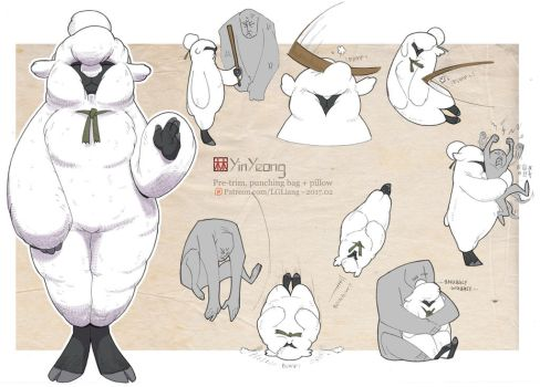 Fluffy YinYeong by lgliang