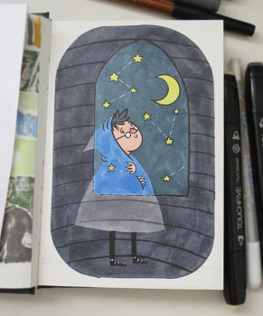 little midnight potter by paranoiac-lo