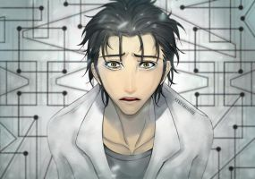 Steins Gate: Okabe Rintarou by Stefminnie