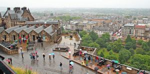 Edinburgh in Rain by AgiVega