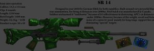 Sniper rifle design by Darkheart1987