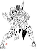 Assassins Creed 3 - Drawn Project by shonemitsu