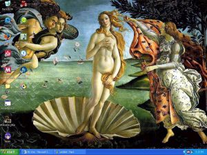 Boticelli's Birth of Venus