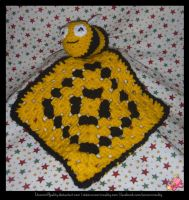Bee Comforter by UnicornReality