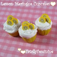 Lemon Meringue Cupcakes by FatallyFeminine