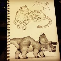 Sketchbook - Oct. 13 2014 by Eligecos