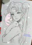 +Usagi+ by larienne