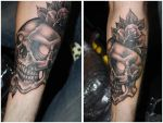 skull roses assen convention by WillemXSM
