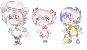 Normal Gijinkas Adoptables: CLOSED by Scratch-E-Digital