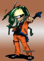 Naruto and Frog by leonardom9