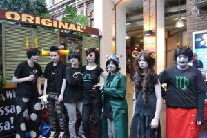 Homestuck Cosplay by Aru---Chan