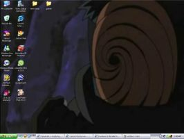 Meh Current Desktop of Awesome by Acid-Rain0929