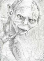 gollum by cowpatface