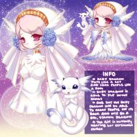 Summoner Adoptable w/ Baby Dragon {CLOSED} by LittleRueKitty