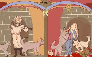 The deaths of Hedwig and Wilhem by longestdistance