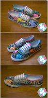 Alien Shoes by mburk