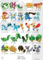 Pokemon Oryu Collection 1 by shinyscyther