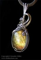 Ethereal Gold Labradorite by Nambroth