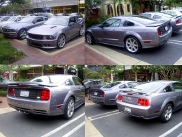 Mustang GT - Saleen evil twin by Partywave