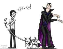 Sparky is not amused by Ravenfire5