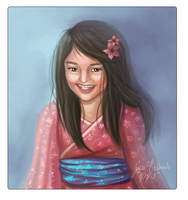 Asian Princess by Moondustdreams