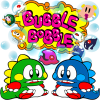 Bubble Bobble by POOTERMAN