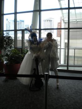 Gackt and Mana Cosplayers by telrunya