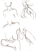 Shoulder and Neck Studies by Aryang
