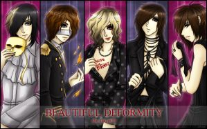the GazettE BEAUTIFUL DEFORMITY by GazerockShangri