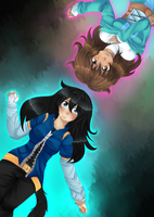 Collba-commission- Mayu and Author by Tacsayo
