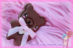 sweet bear biscuit ring by CandyStripedCafe