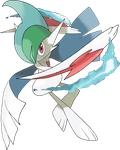 Mega Gallade by TheAngryAron