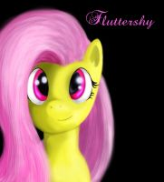 Simply Fluttershy by RoboTheHoobo