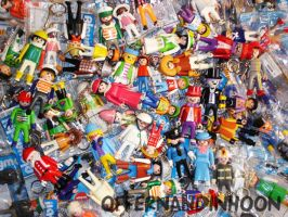 Playmobil Keychain Collection by offernandinhoon