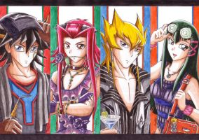 YGO 5Ds - Eye Candy by punkbot08