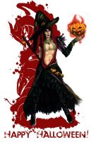 Dragon Age Halloween by shalizeh