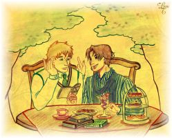 APH - Poets and more... by Dracontessa