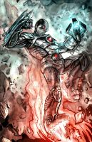 Cyborg by timothylaskey