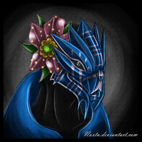 Female Turian Headshot by Noxtu