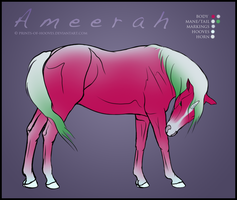 Ameerah Reference Sheet by prints-of-hooves