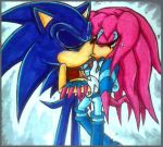 Sonic X Sky- Kiss by Sky-The-Echidna