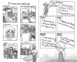 J's Daily Life Comix: Week 2 by Tozoku