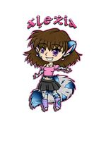 Alexia Chibi by Galaxys-Most-Wanted