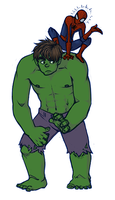 Spider Hulk by malin-j