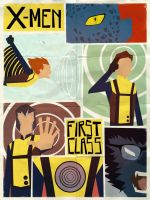 X-Men First Class by Andry-Shango